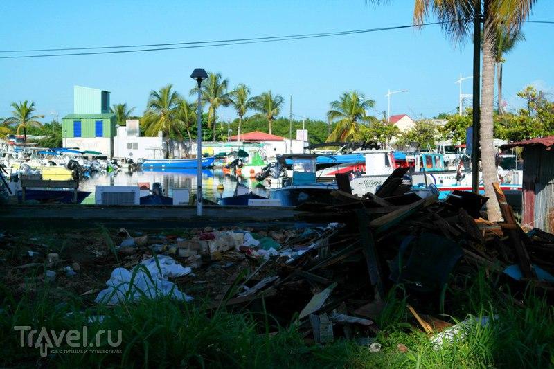 Пуэнт-а-Питр, Гваделупа - Первые впечатления на утро после приезда / Французская Гваделупа