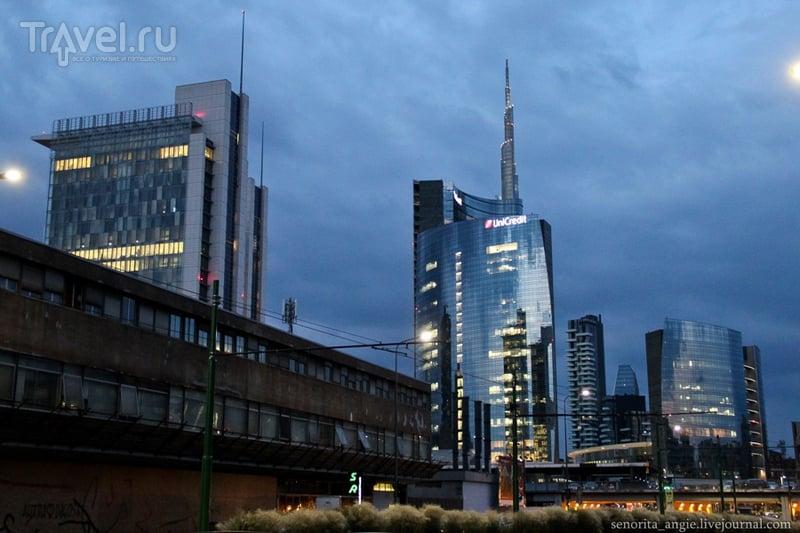 Современный и экстравагантный Милан / Италия