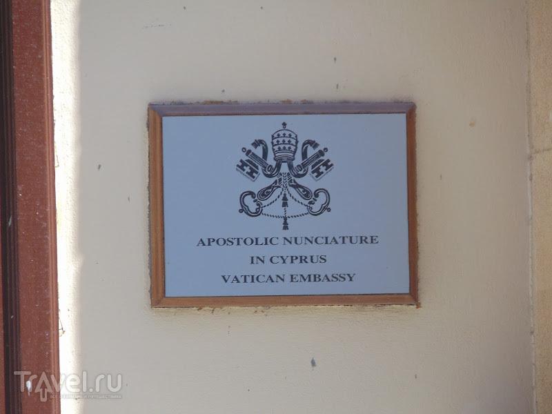 """Прогулка за """"зеленой линией"""" в Никосии / Кипр"""