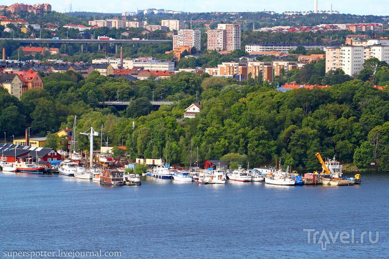 Стокгольм с высоты 106 метров / Фото из Швеции