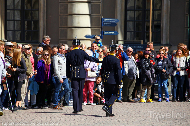 Стокгольм. Смена почётного караула / Фото из Швеции