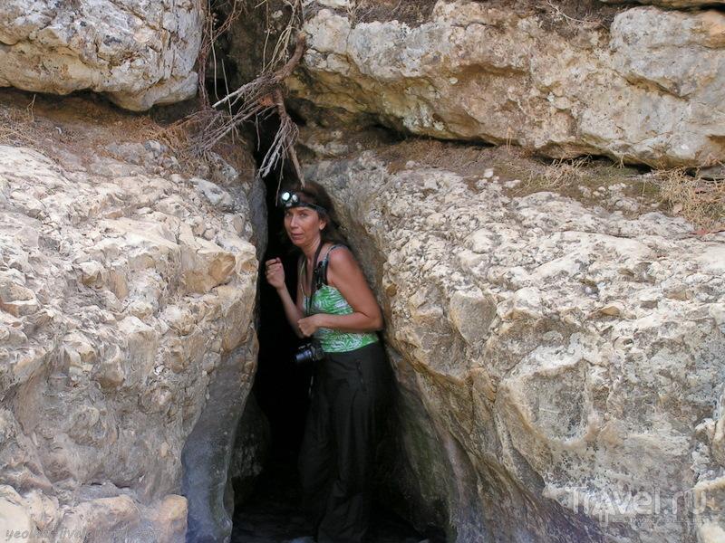 Незнакомый Израиль. Живая вода. Грот Эйн Тамир / Фото из Израиля