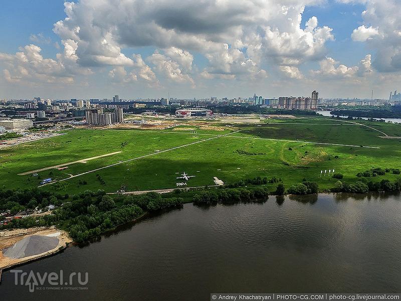 Москва и область. Вид сверху / Фото из России