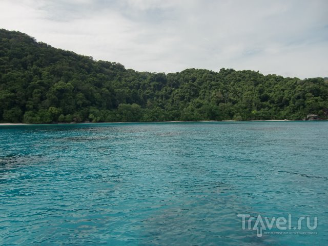 Поездка на Симиланские острова / Таиланд