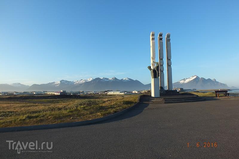 Исландия. Город Hofn / Исландия