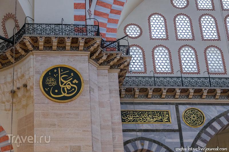Сулеймание: самая большая мечеть Стамбула / Фото из Турции
