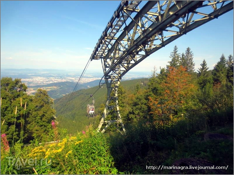 Шварцвальд: по канатной дороге на Шауинсланд / Германия