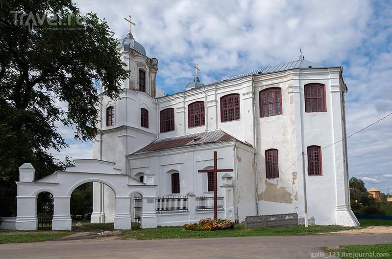 Кармелитский костёл в Мстиславле / Белоруссия