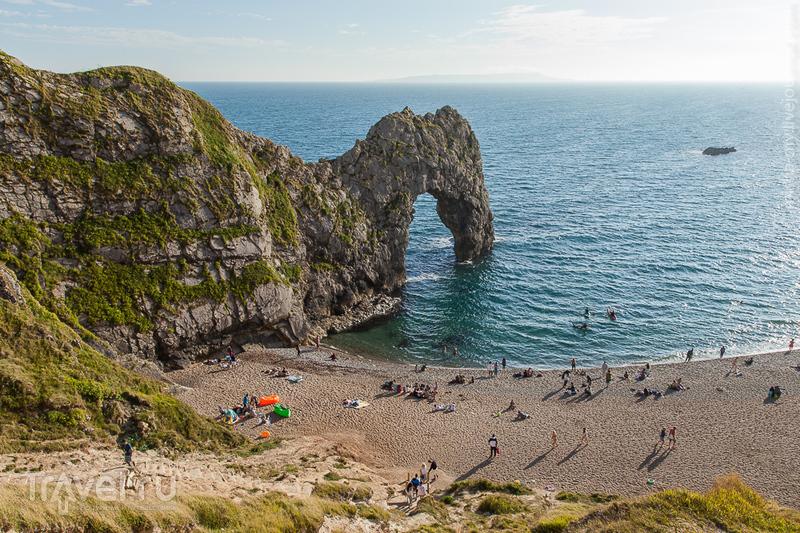 Великобритания. Бухта Lulworth Cove и природная арка Durdle Door / Фото из Великобритании