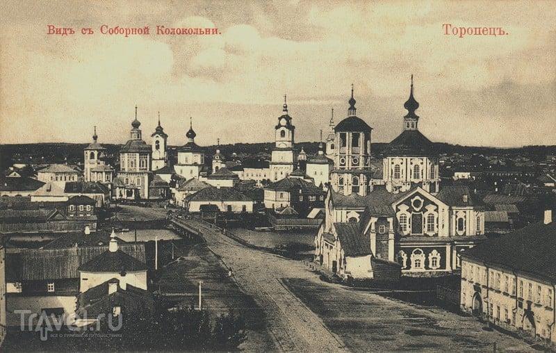Торопецкий краеведческий музей и дореволюционные панорамные виды города / Россия
