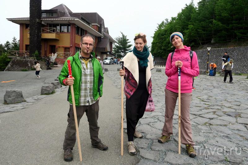 Япония: Подъём на Фудзи / Фото из Японии