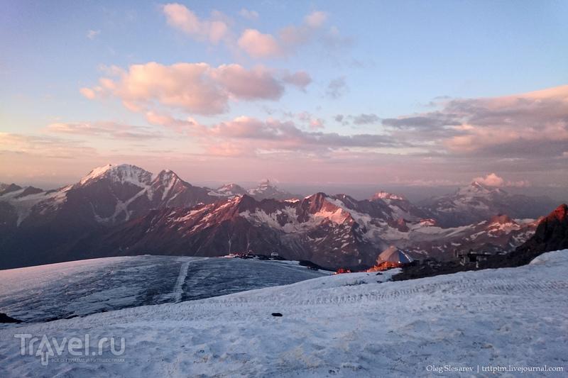 История одного восхождения на Эльбрус / Фото из России