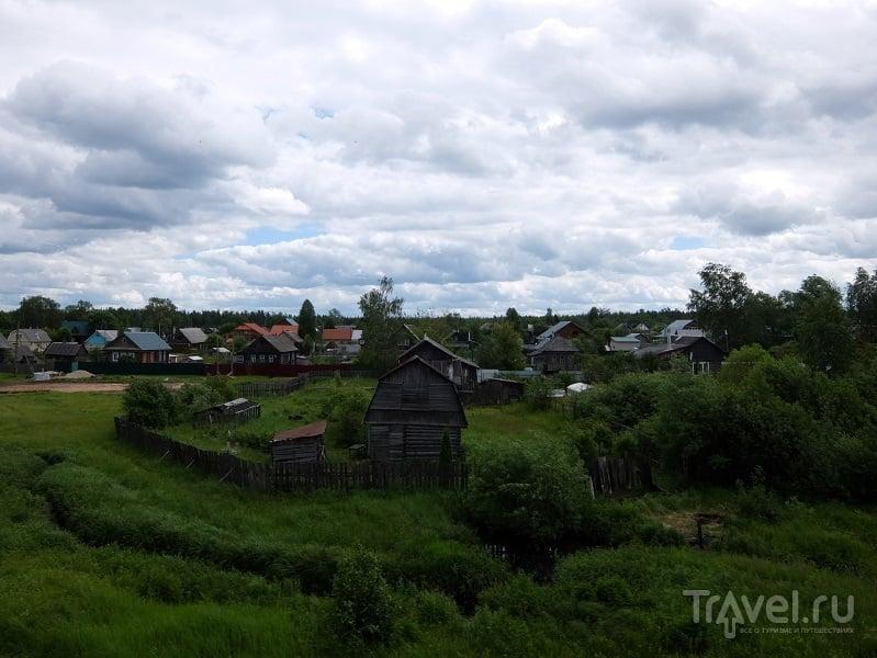 Москва - Тумская: контрасты российских железных дорог / Фото из России