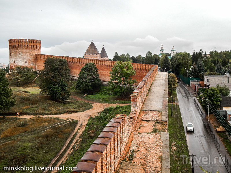 Тайны смоленской крепости / Фото из России