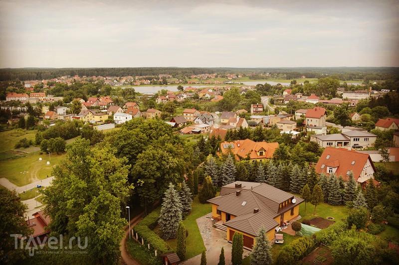 Голдап: польская провинция с высоты птичьего полёта / Польша