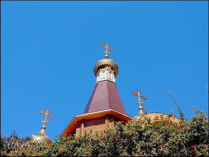 Альтеа, Испания. Русская церковь / Испания