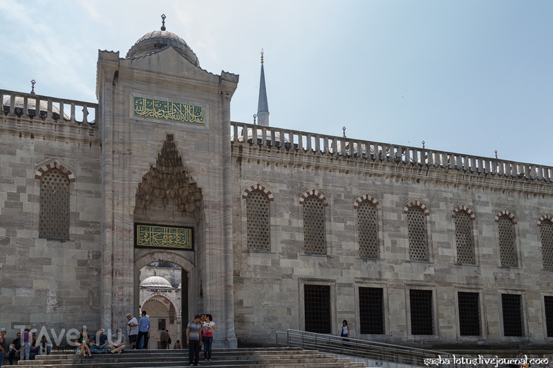Голубая мечеть Султанахмет / Фото из Турции
