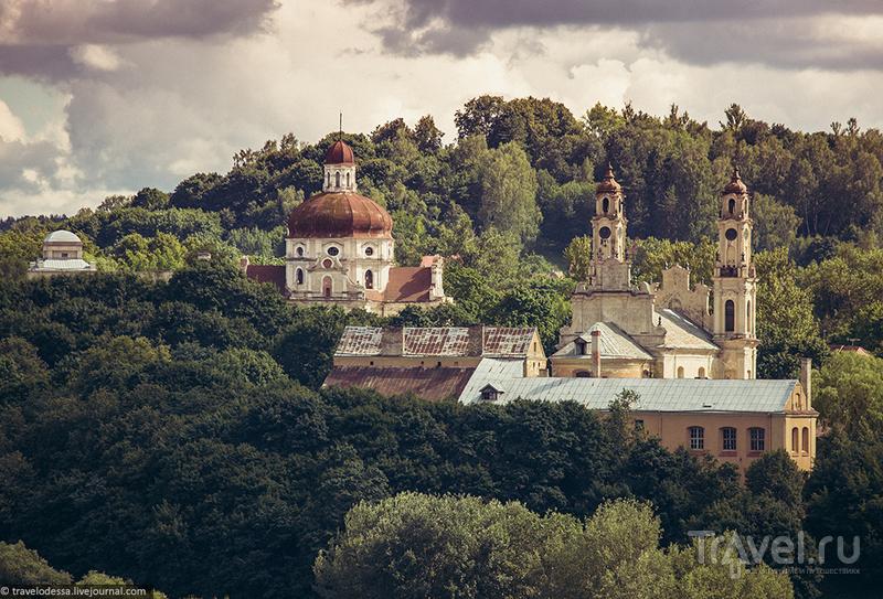 Вильнюс 360° с высоты Башни Гедиминаса / Фото из Литвы