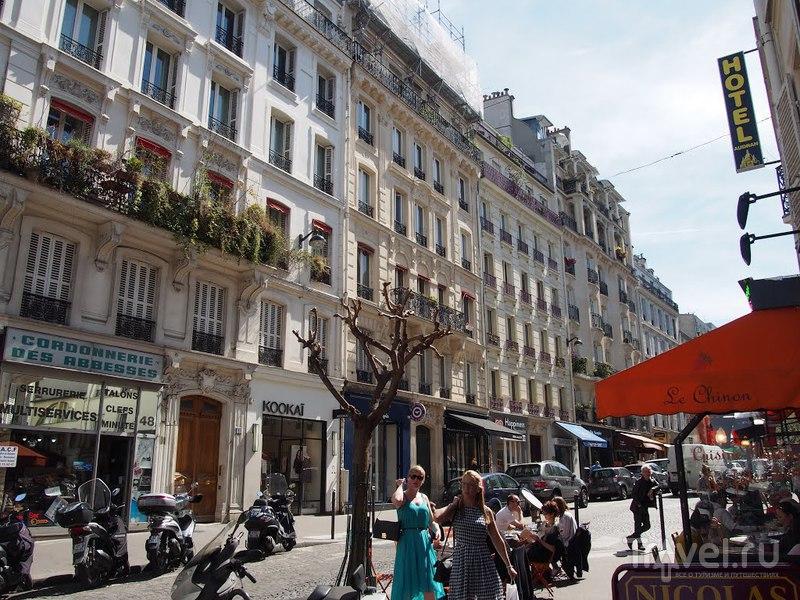 Париж, я пройду тебя! Монмартр / Франция