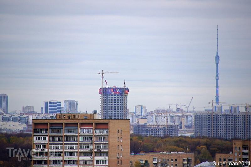 Московская осень. Виды из Кунцево / Россия