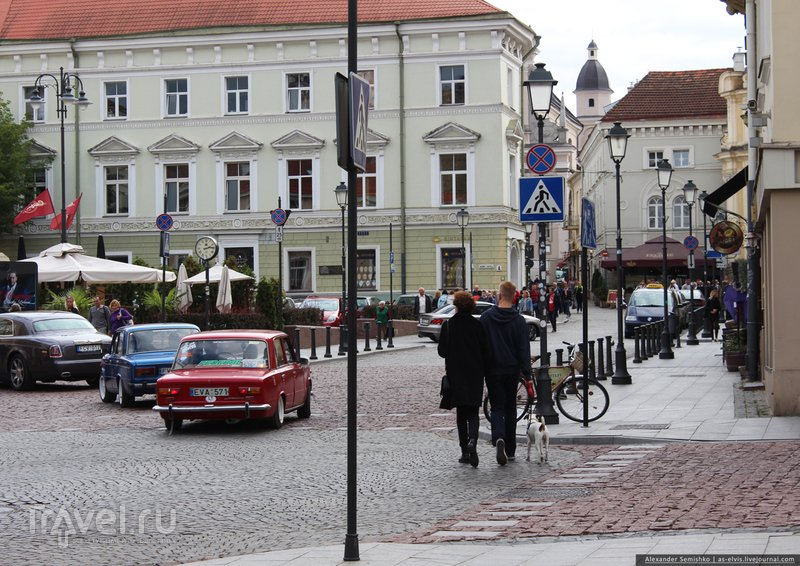 Улицами Вильнюса / Фото из Литвы