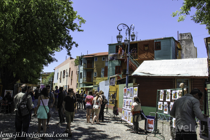 Буэнос-Айрес. Район La Boca / Аргентина