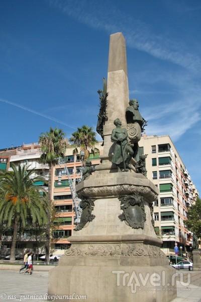 Символ свободы - парк Цитадель. Барселона / Испания