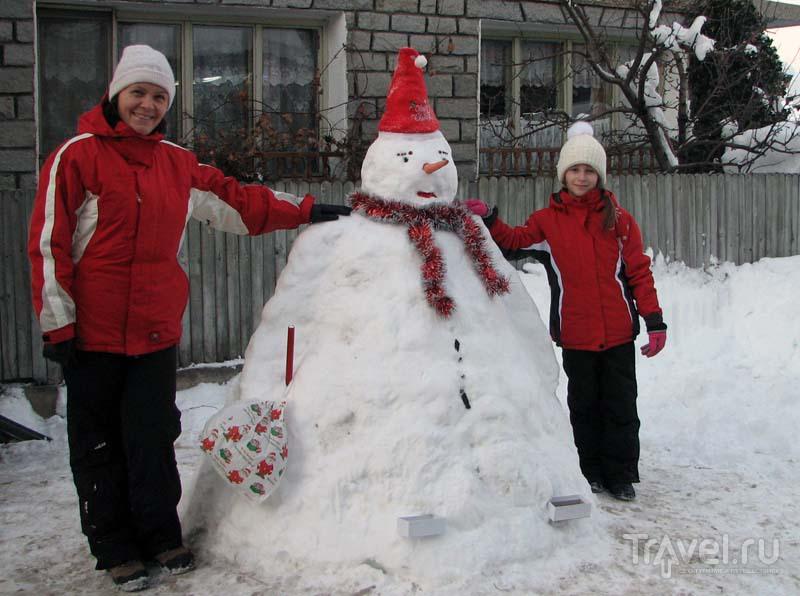 Новый Год в Банско. Снег, лед, коты, копы и кукеры / Болгария