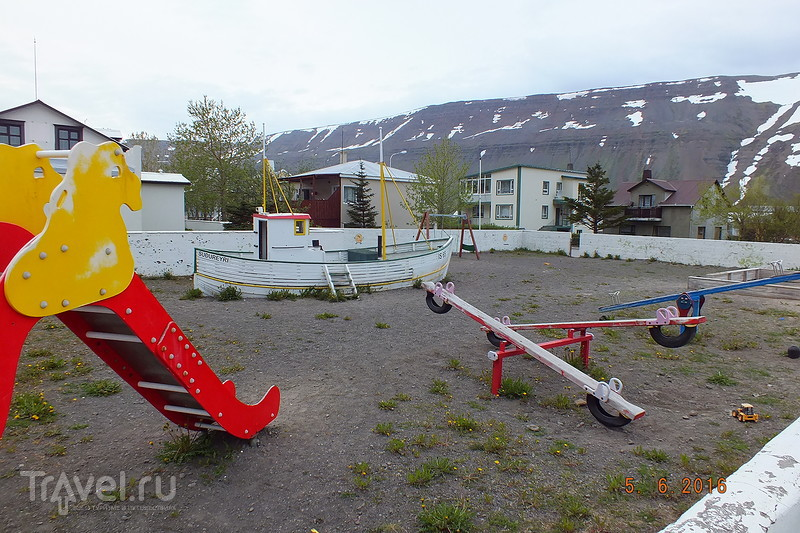 Исландия. Город Sudureyri / Фото из Исландии