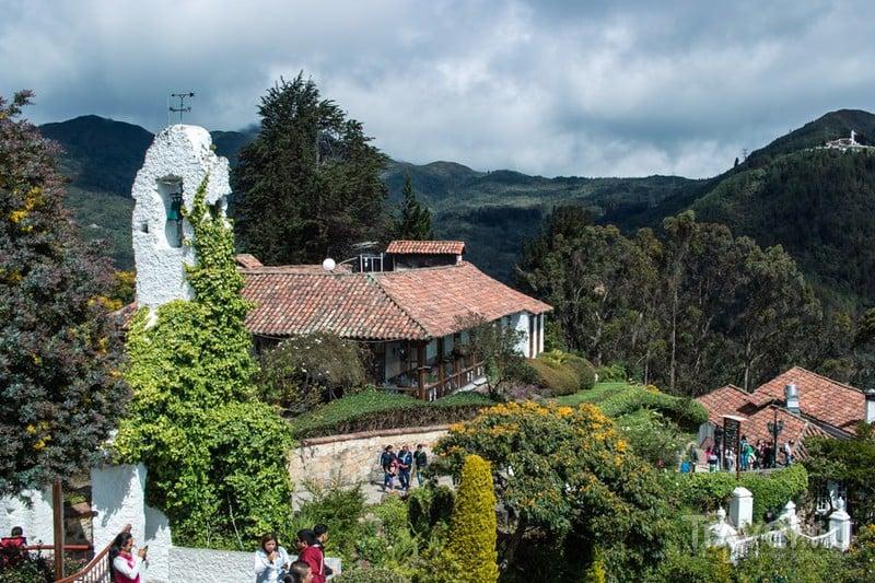 Богота, Колумбия: гора Монсеррат / Фото из Колумбии
