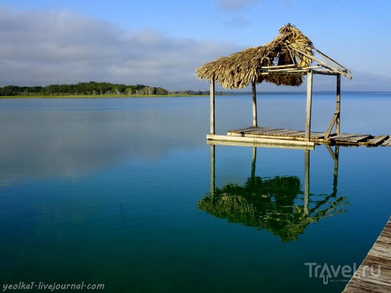 Озеро Петен-Ица ранним утром / Фото из Гватемалы