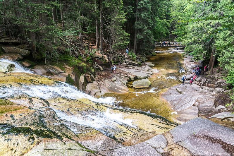 Крконошский национальный парк. Мумлавский водопад / Фото из Чехии