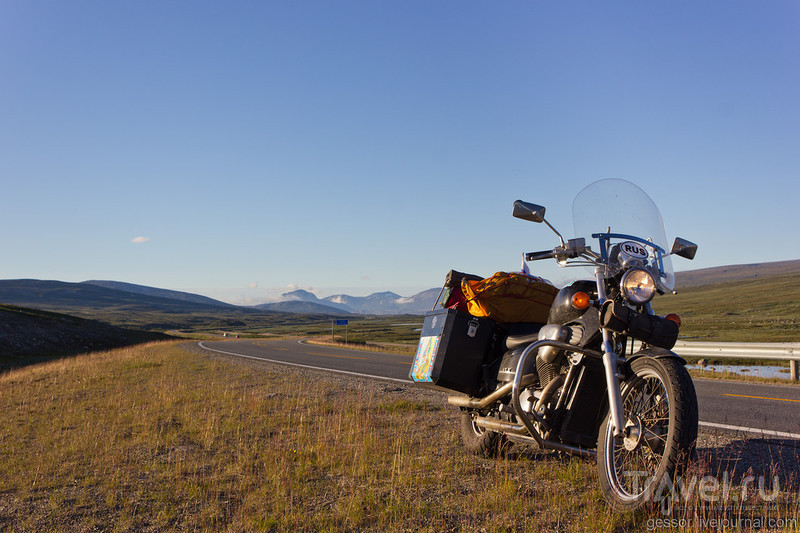По Скандинавии на мотоцикле / Швеция