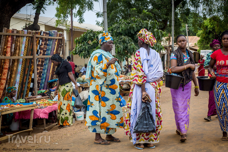 Один день в Гамбии / Гамбия