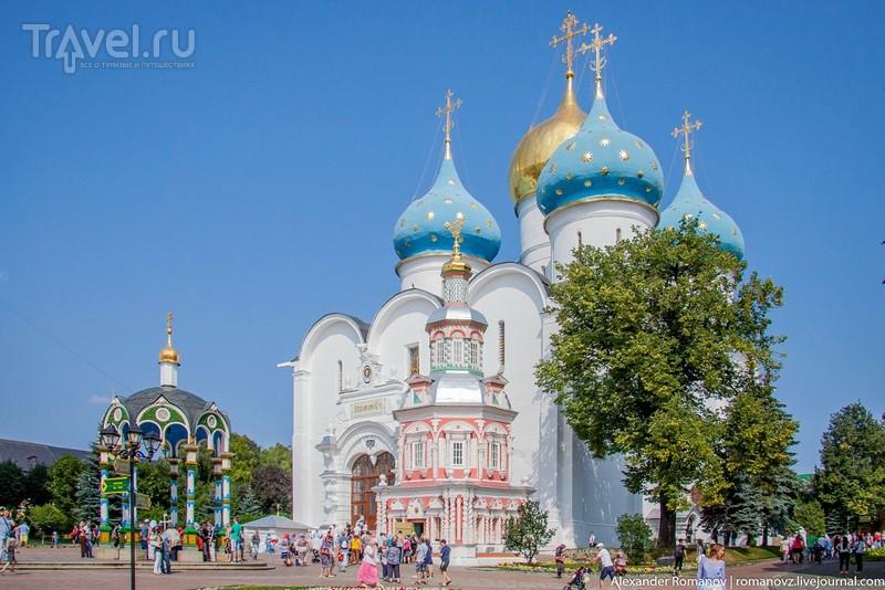 Прогулка по территории Троице-Сергиевой Лавры / Россия