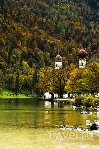 Осень в Баварии. Альпы, озера и копченая рыбка / Германия