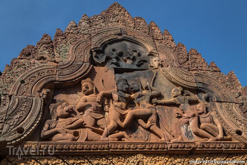 Цитадель красоты Banteay Srei / Фото из Камбоджи