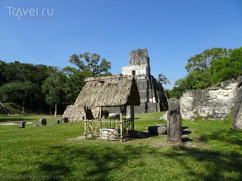 Тикаль - где слышны голоса духов / Фото из Гватемалы