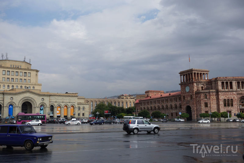 Армения на авто. Ереван / Армения