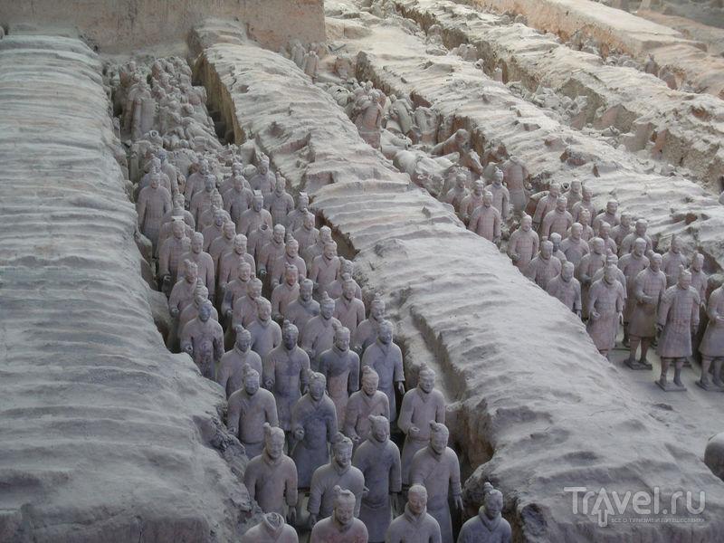 Китай. Терракотовая армия / Китай