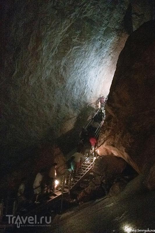 Ледяная пещера Айсризенвельт / Фото из Австрии