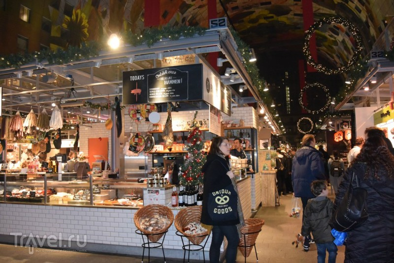 Рождественские рынки. Роттердам / Нидерланды