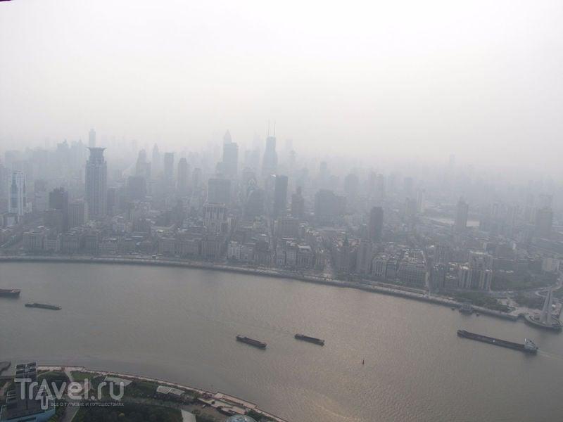 Ночной Шанхай и китайский Сайлент Хилл / Фото из Китая