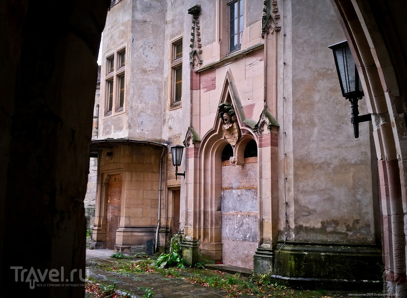 Заброшенный замок Рапунцель / Фото из Германии