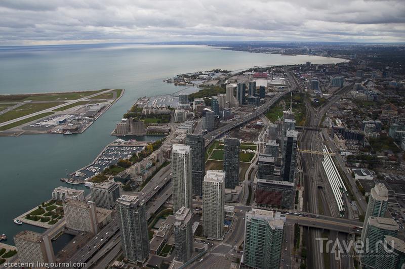 Торонто 360. CN Tower / Фото из Канады