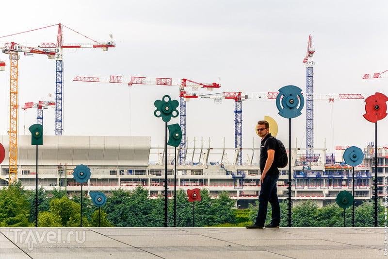 Про парижские небоскребы - район Дефанс / Фото из Франции