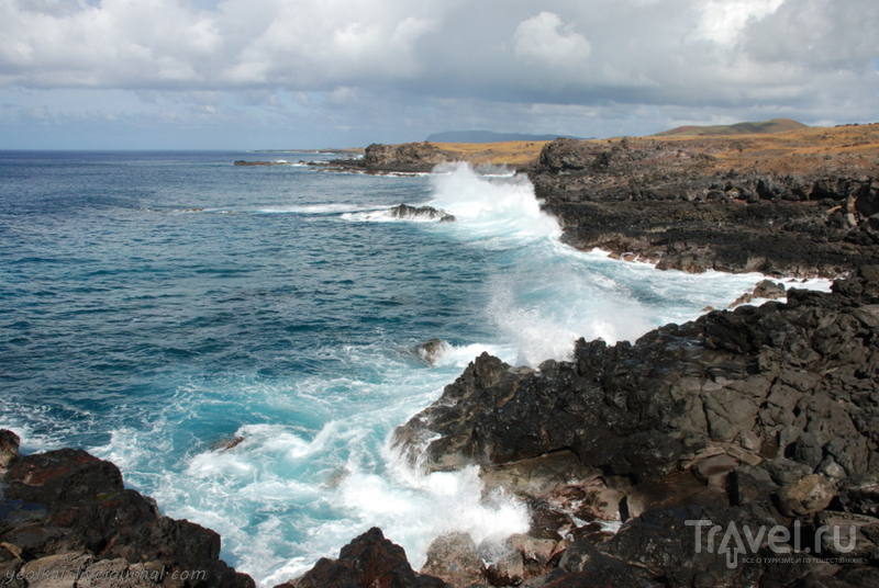 Остров Пасхи. Океан и местный праздник / Фото из Чили