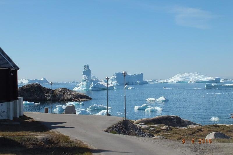 Гренландия. Город Илулиссат / Гренландия