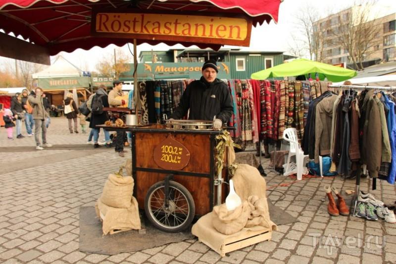 Блошиный рынок Mauerpark: фрики, дирижабли и винил / Германия