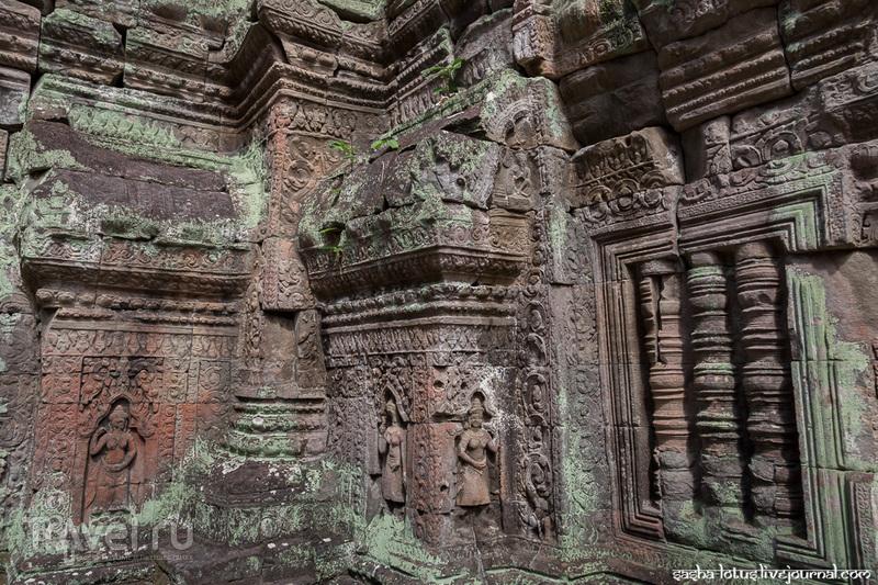 Священный город победы Preah Khan / Фото из Камбоджи